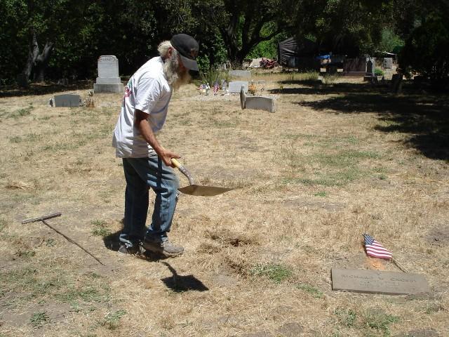 Gary Digging Up Our Ancestors