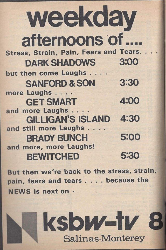 TV Guide Ad 1976, KSBW-TV