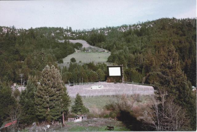 Starview Drive-in Theater Boulder Creek, Calif. 1953. KenStonePhotos