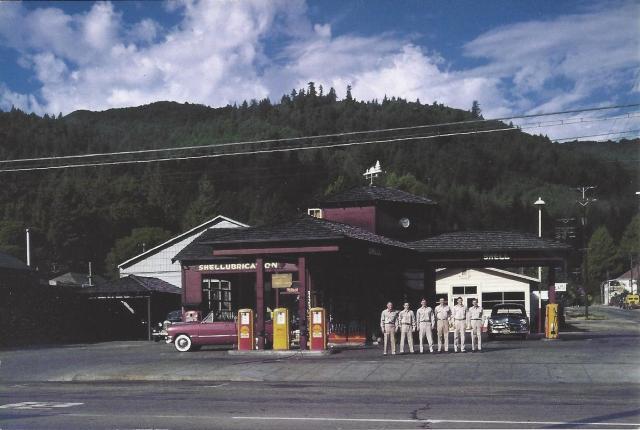Cress Station Boulder Creek, CA, 1954 Ken Stone Photos