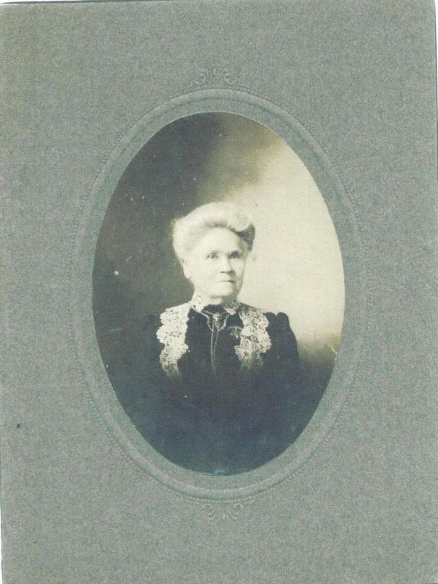 My great great grandmother, Eliza Jane