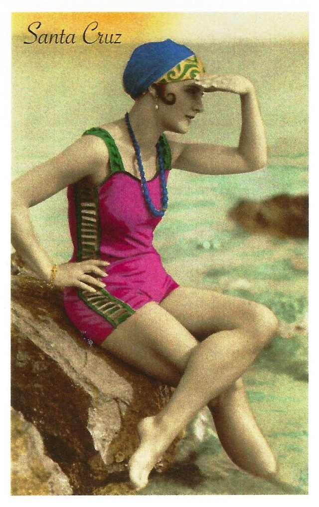 Vintage Photo: Santa Cruz Bathing Beauty