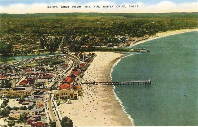 Old Santa Cruz From The Air