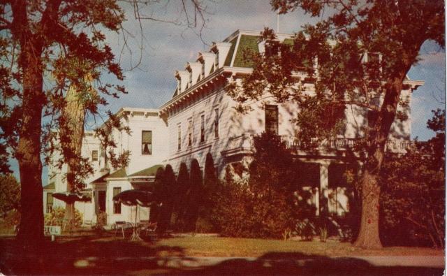 Riverside Hotel 1958 Santa Cruz, Cal.