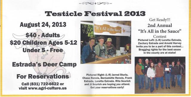 Testicle Festival 2013