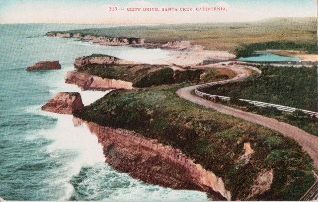 West Cliff Dr. Santa Cruz circa 1907