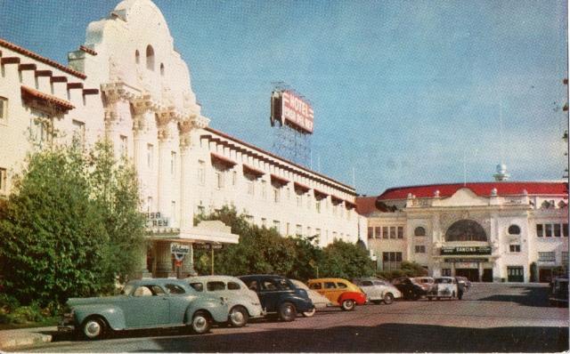 1949 Hotel Casa Del Rey, Santa Cruz, Calif. Courtesy SCPL.