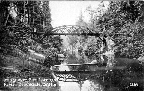 Brookdale Bridge, circa early 1900's.
