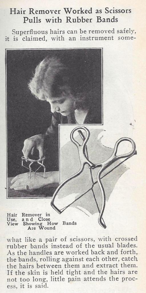 1925 Hair Removal Tool.