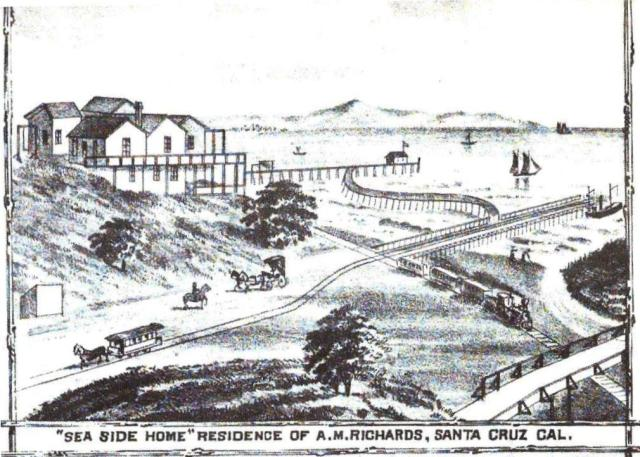 Can anyone identify where in Santa Cruz this is? 1879