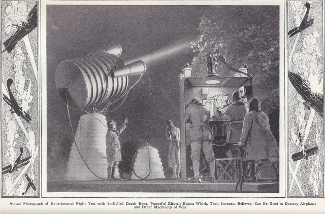 1925 Death Ray Invention
