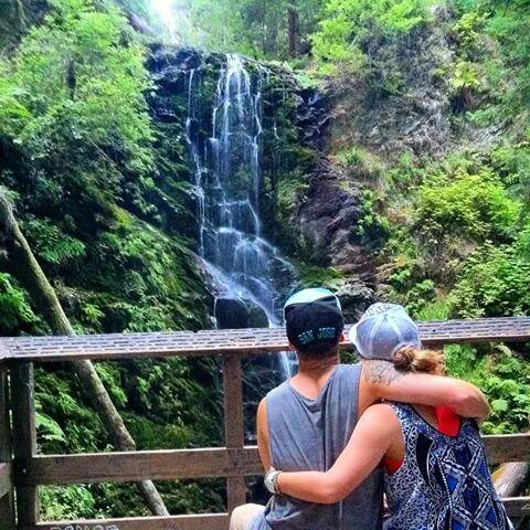2014 Berry Creek Falls, Big Basin State Park, Boulder Creek. Courtesy of Stefani Wormington.